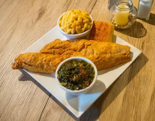 Fried Haddock
