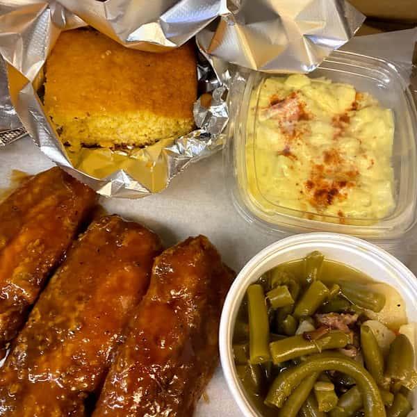ribs platter