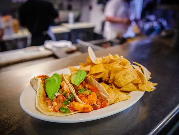 Tequila Jo's Shrimp Tacos