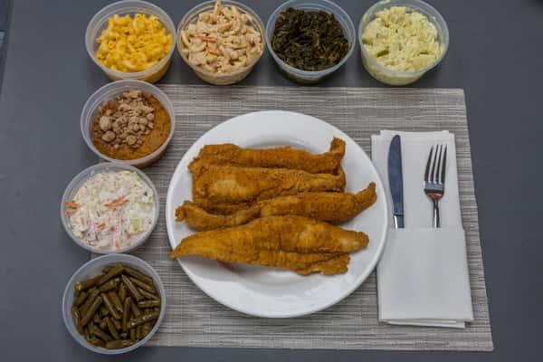 Whiting Fish Platter