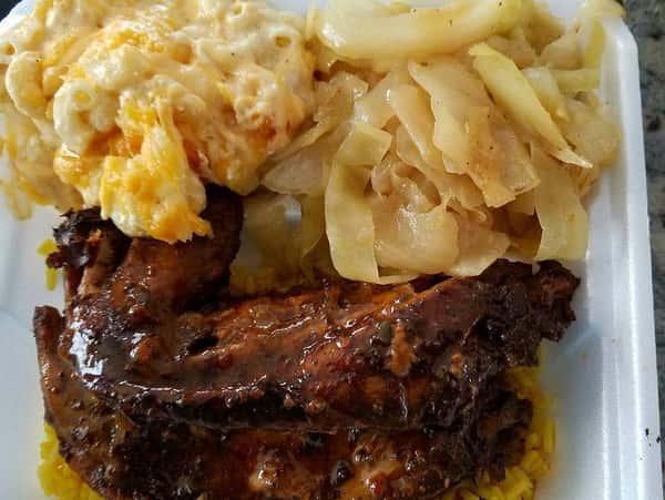 ribs and mac n cheese