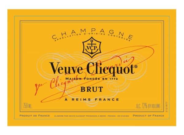 Veuve Clicquot, Yellow Brut Champagne