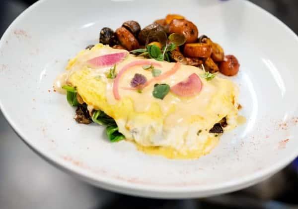 Steak & Hongos Omelette