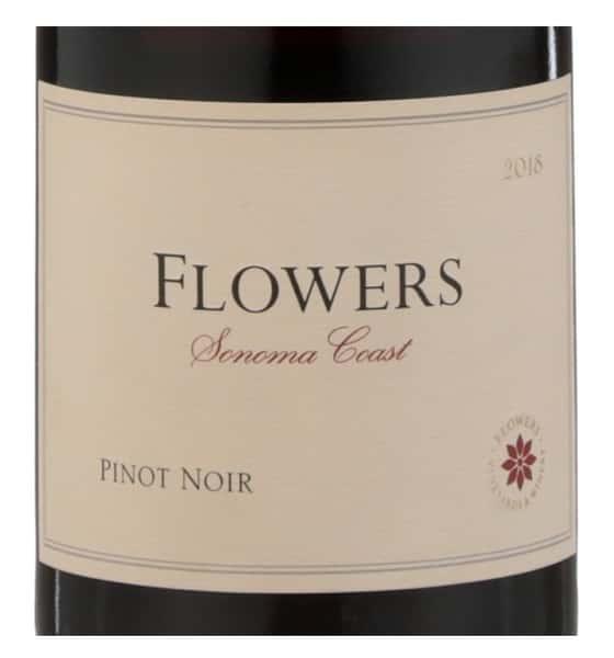 Flowers, Pinot Noir