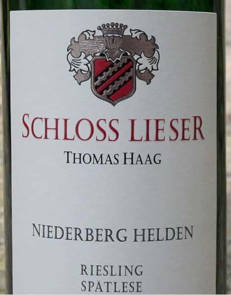 Schloss Lieser, Riesling
