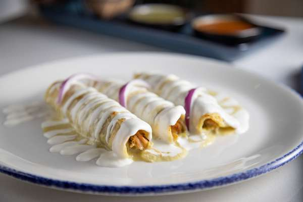 Dinner Enchiladas
