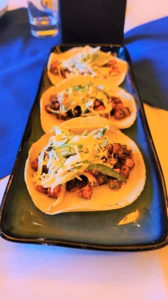 Veggie Camaron Style Street Tacos