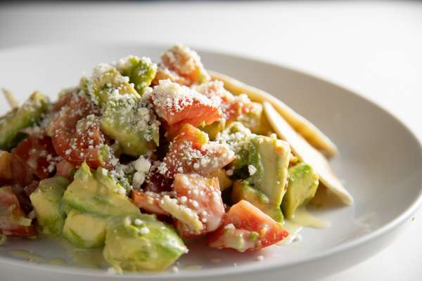 Naked Avocado Salad