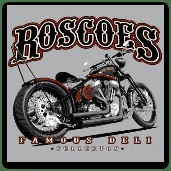 Roscoe's Famous Deli Fullerton logo