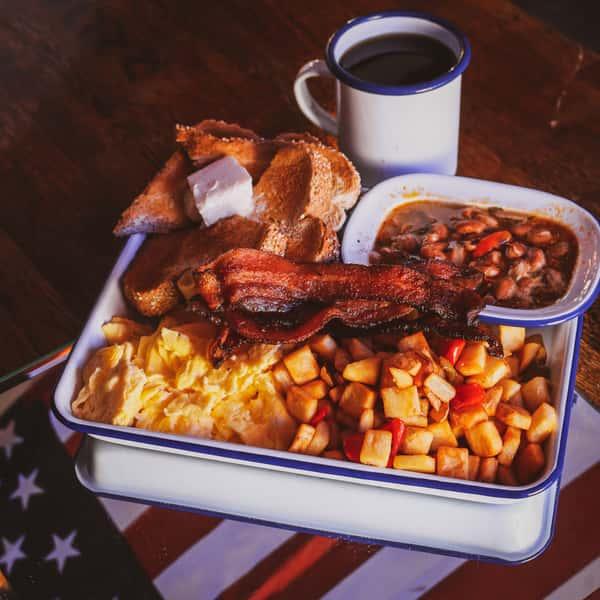 Cowboy Campfire Breakfast*