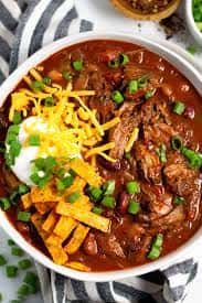 BBQ Short Rib Chili