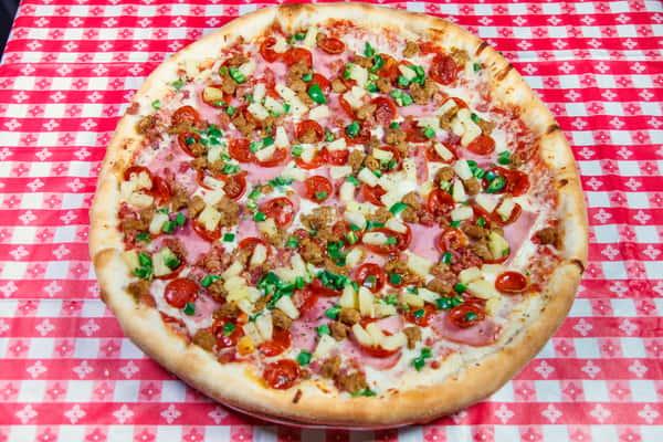 Spicy Bambino Specialty Pizza