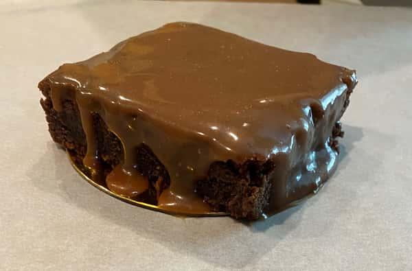 Salted Caramel Nutella Brownie