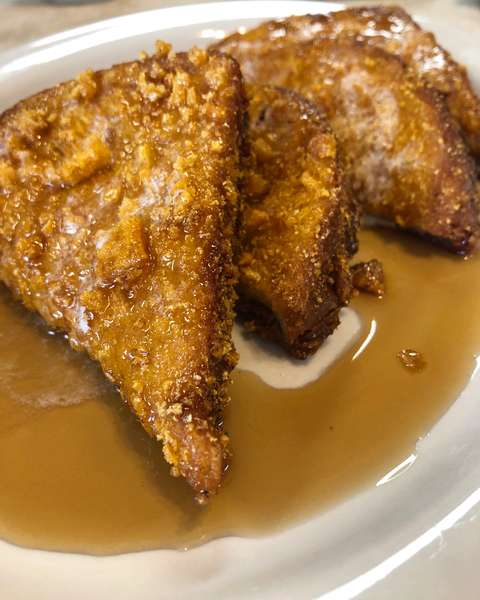 Almost Famous Crunch Toast