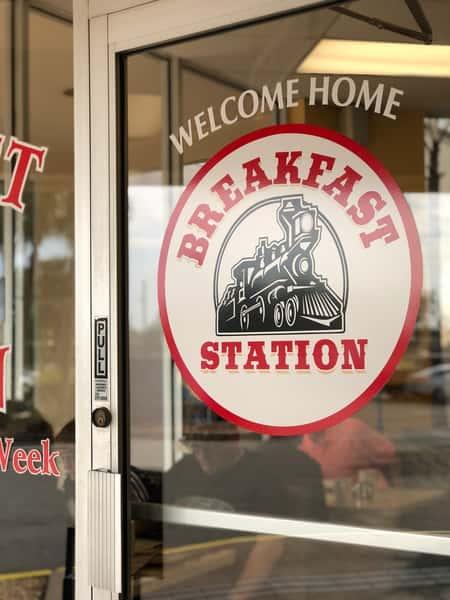 The Breakfast Station Door