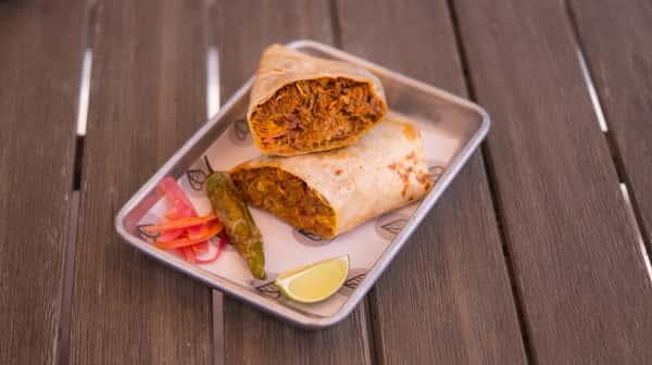 Cochinita Pibil Burrito
