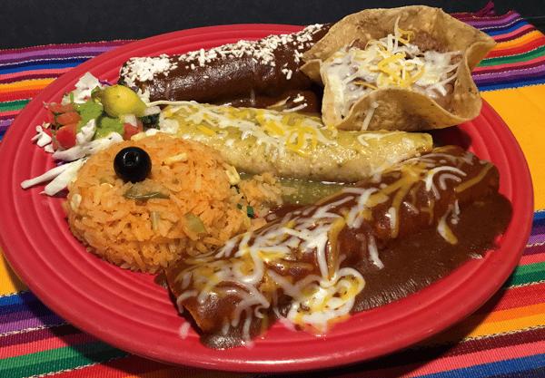 Enchiladas Trio