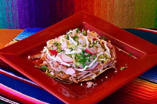 Chef's Carnitas Tostada