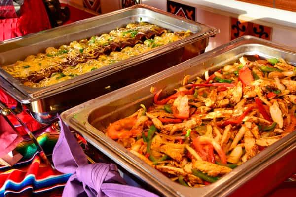 banquet trays
