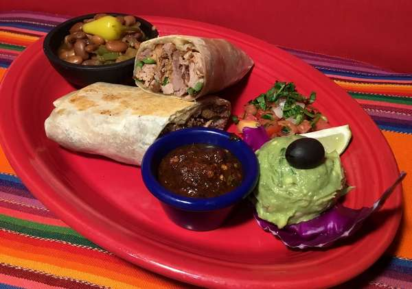 Grilled Carnitas Burrito