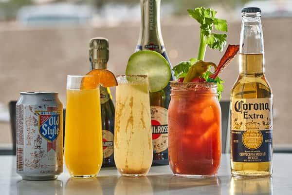 brunch cocktails at the breakfast joynt