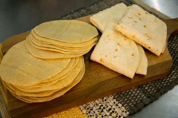 5 Corn Tortillas