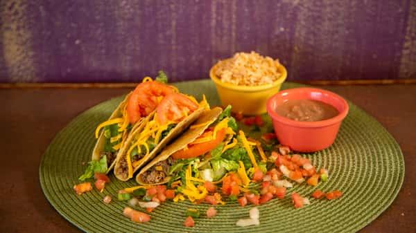 Monday Taco Plate
