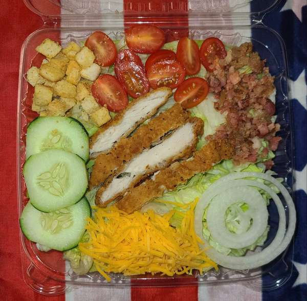 Fried Or Grilled Chicken Salad