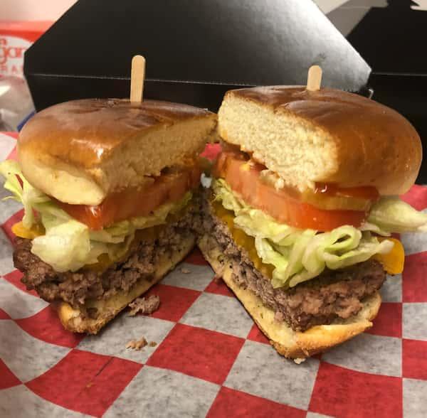 Monday - Pub Burger Basket