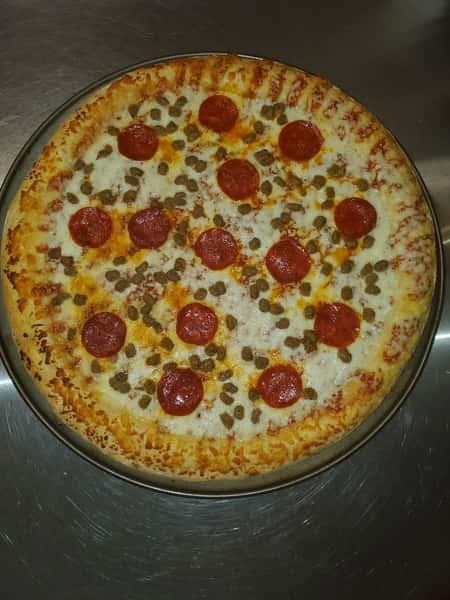 Pepperoni & Sausage Combo Pizza