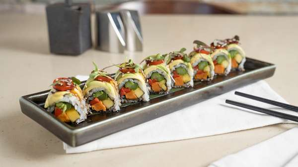 Vegan Paradise Roll