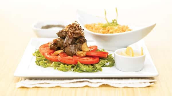Vietnamese Garlic Beef