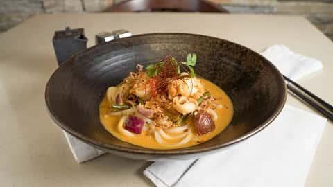 Hellfire Seafood Udon