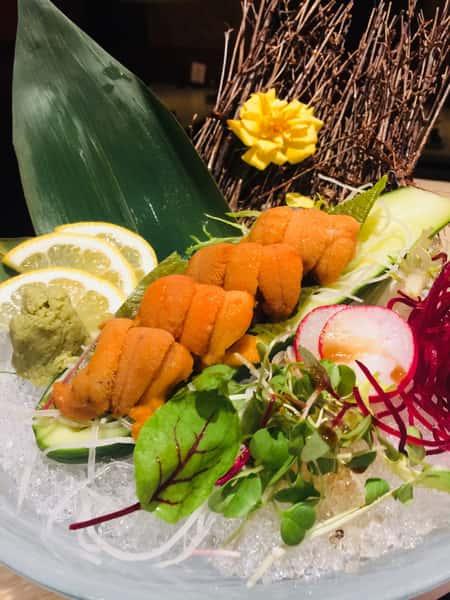 Hokkaido uni sashimi
