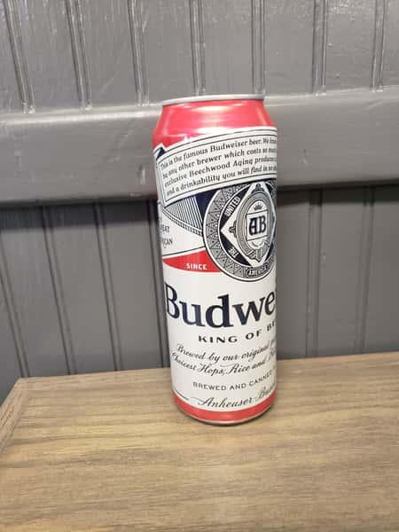 25oz Budweiser Can