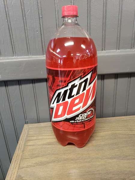 2 ltr Code Red Mountain Dew
