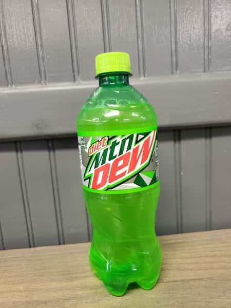 Bottled Diet Mountain Dew