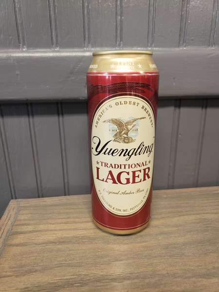 25oz Yuengling Lager Can