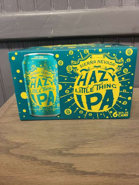 Sierra Nevada- 6 Pack Cans Hazy Little Thing