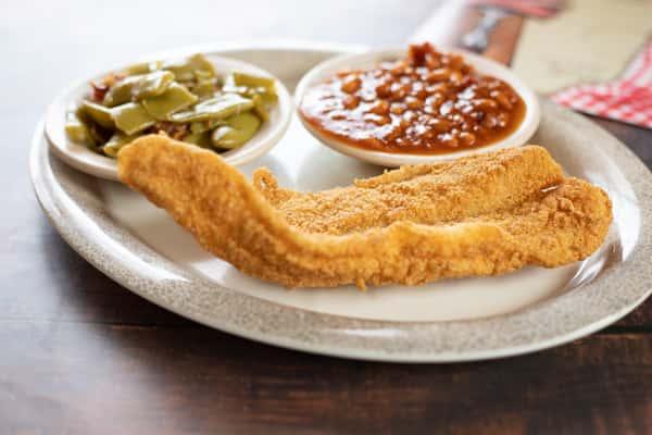 8oz Fried Fish Filet