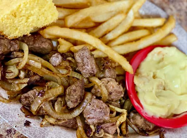 Grilled Steak Tips