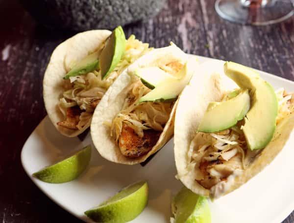 *Fish Tacos (3)