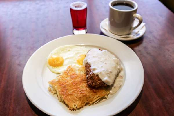 Chicken Fried Steak & Eggs*