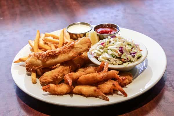 Crispy Fish or Shrimp Dinner
