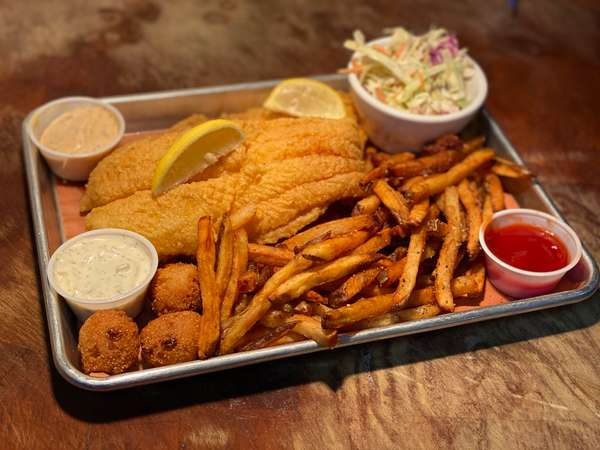 World Famous Catfish Platter