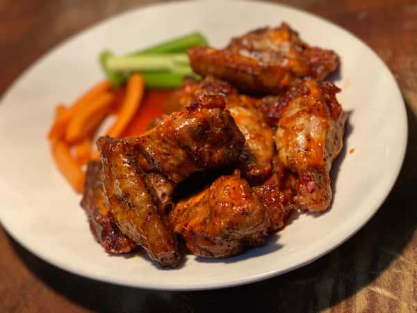 Pecan Smoked Chicken Wings