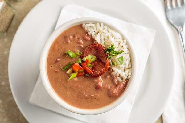 Red Beans & Rice Appetizer