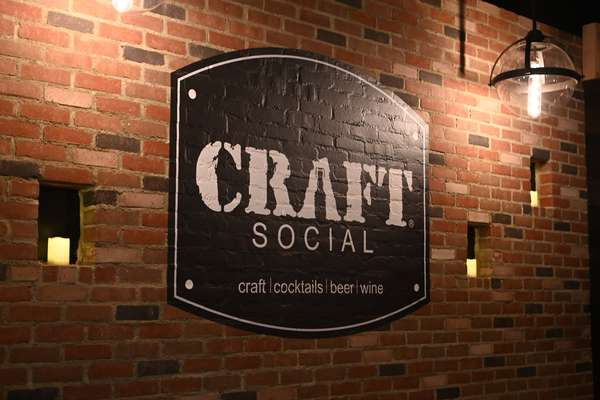 Craft Social wall