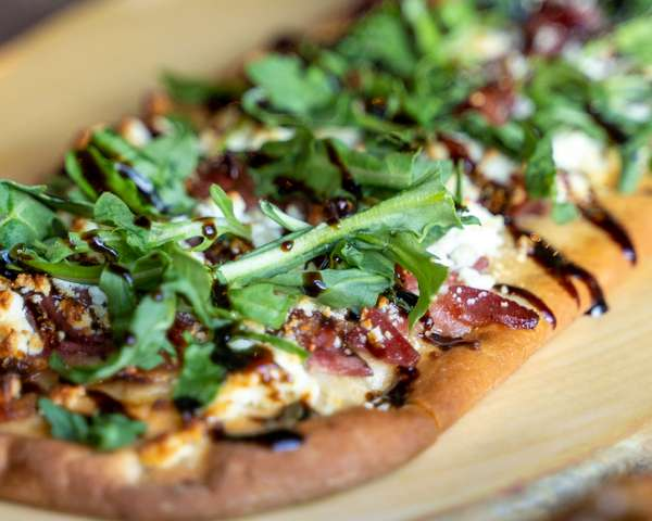 Proscuitto + Goat Cheese