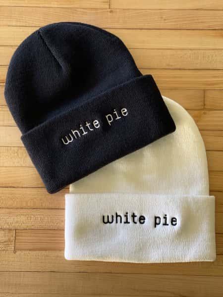 Whie Pie Beanie